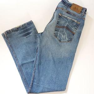 A|X Armani Exchange Light Destoy Denim Men's Jeans